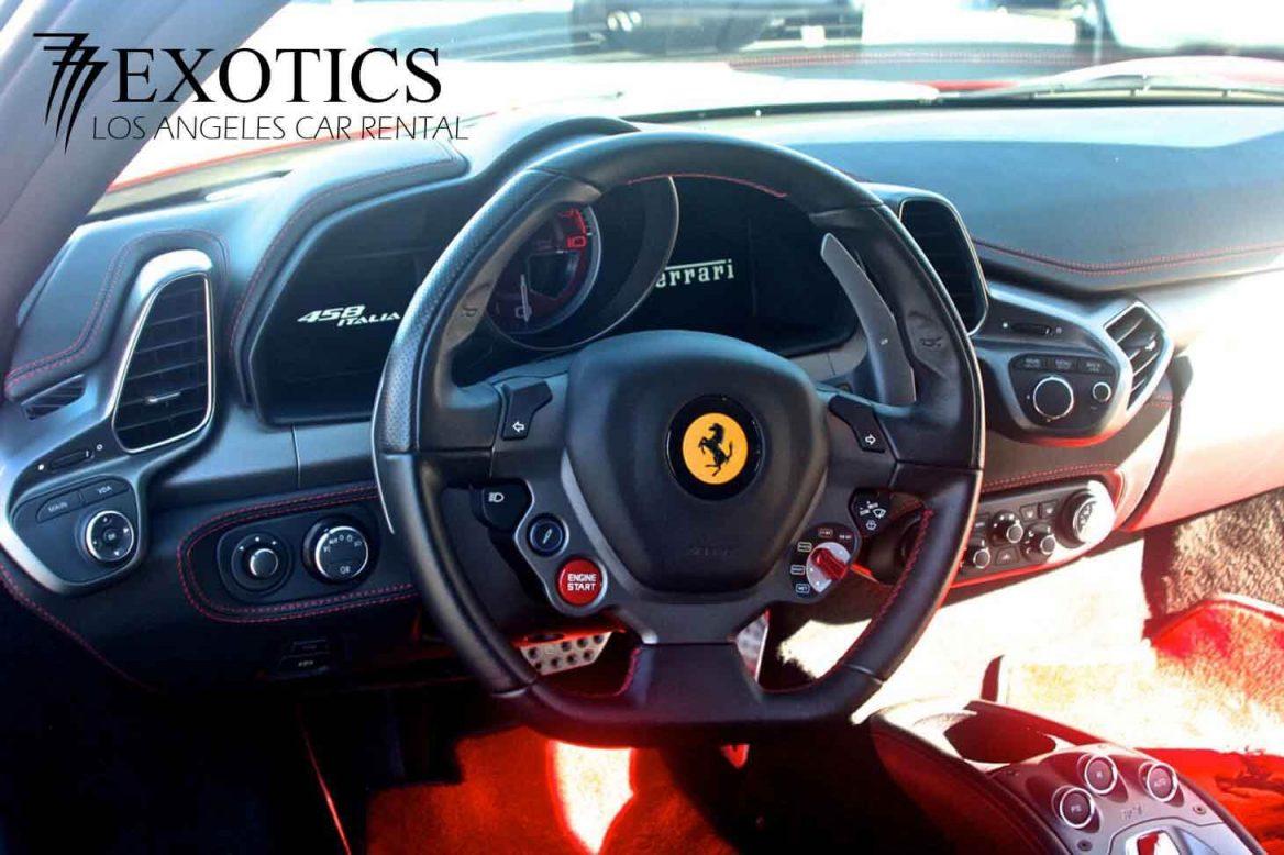 RENT Ferrari HOLLYWOOD