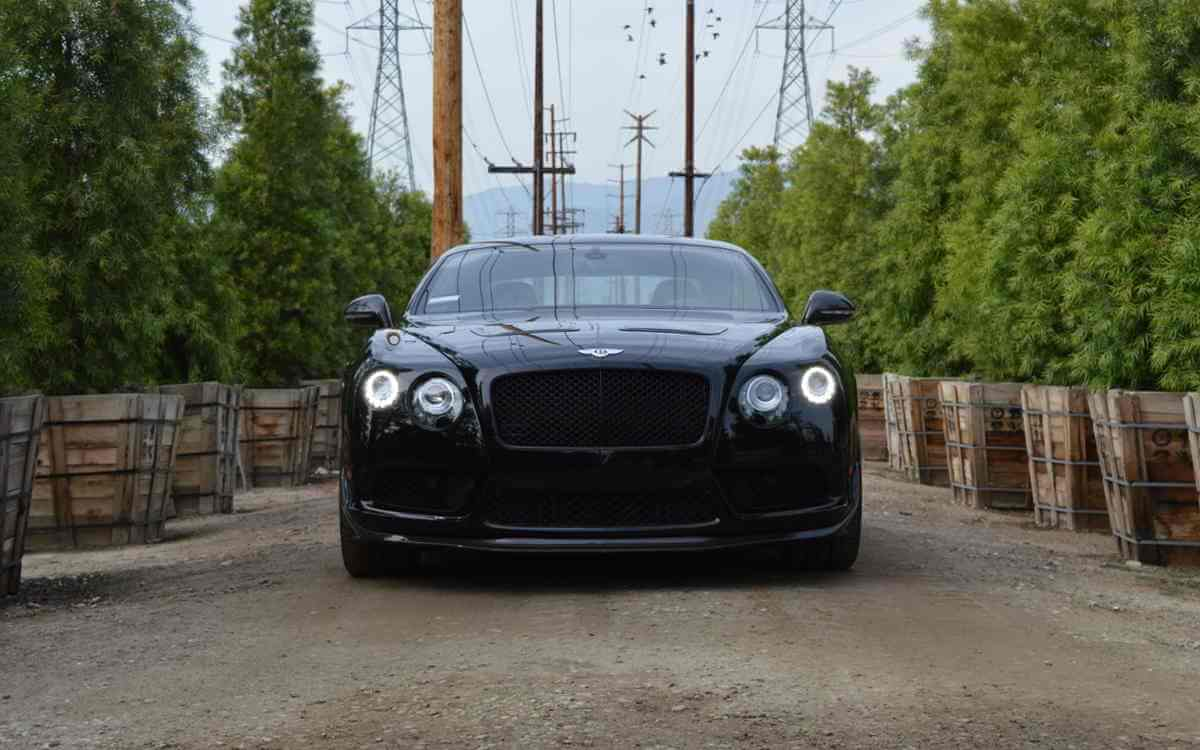 Exotic Black Bentley Rental Los Angeles And Las Vegas