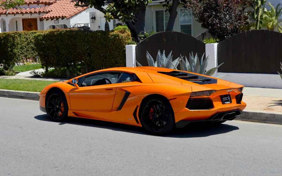 Lamborghini Aventador Rental Los Angeles Las Vegas 777