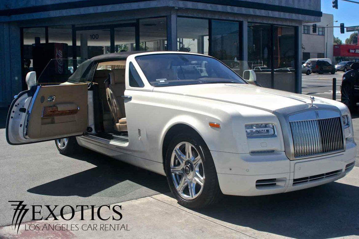 Rent Rolls Royce Las Vegas 777 Exotic Car Rental