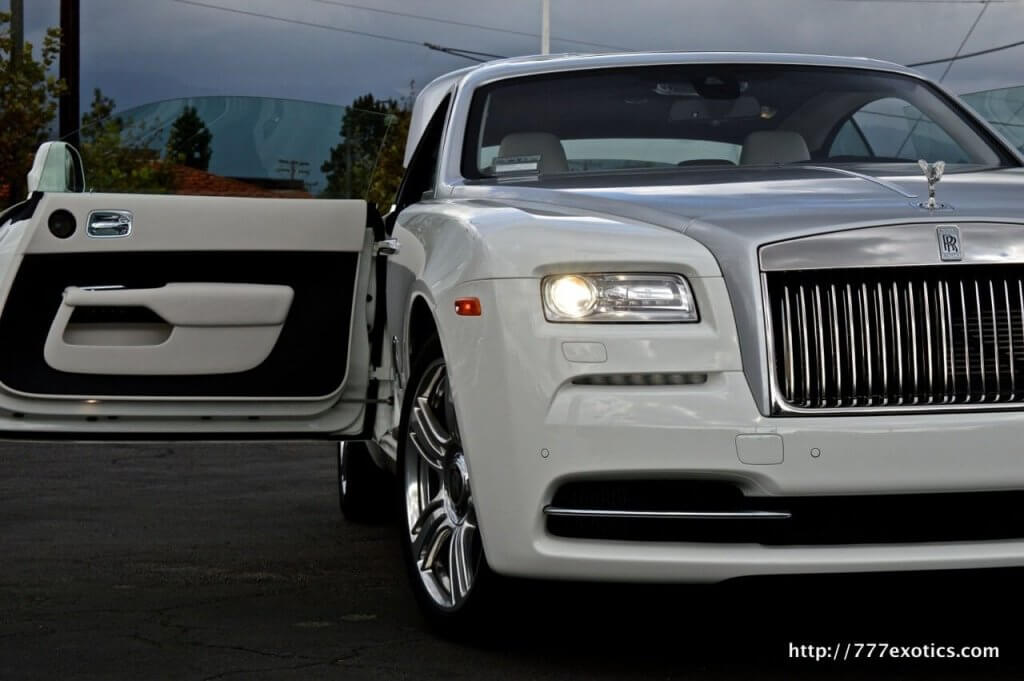 Rolls Royce Wraith Rentals Los Angeles Cheap Price