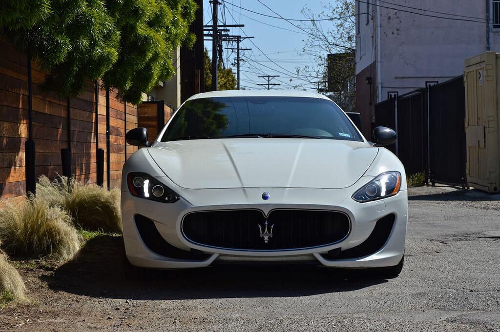 White Maserati Gt 777 Exotic Car Rental Los Angeles