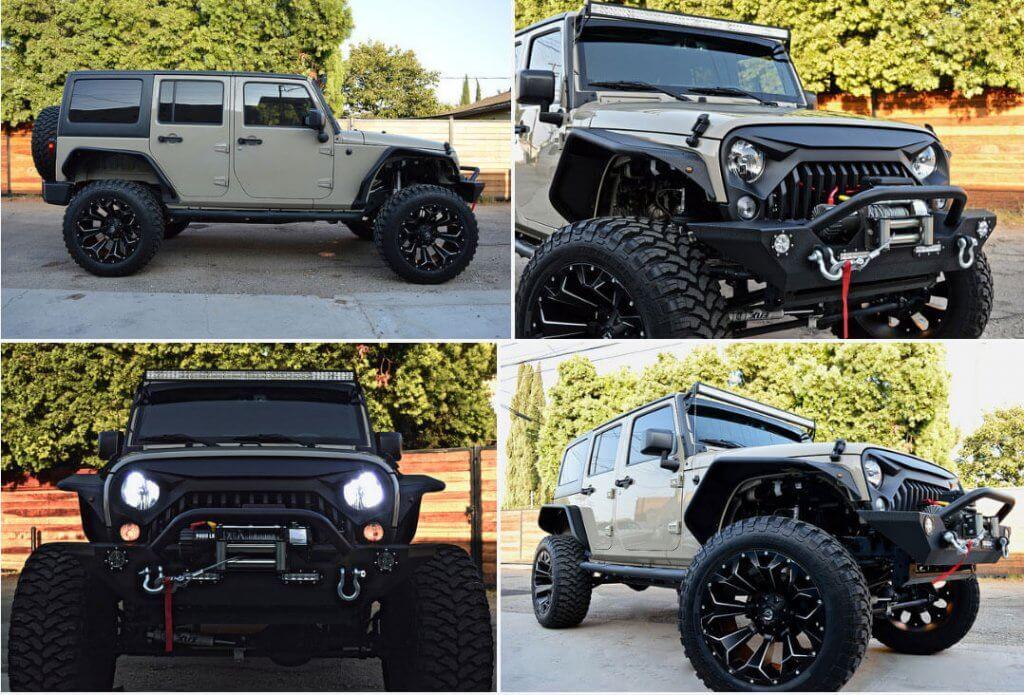 777Exotics Jeep Wrangler LA