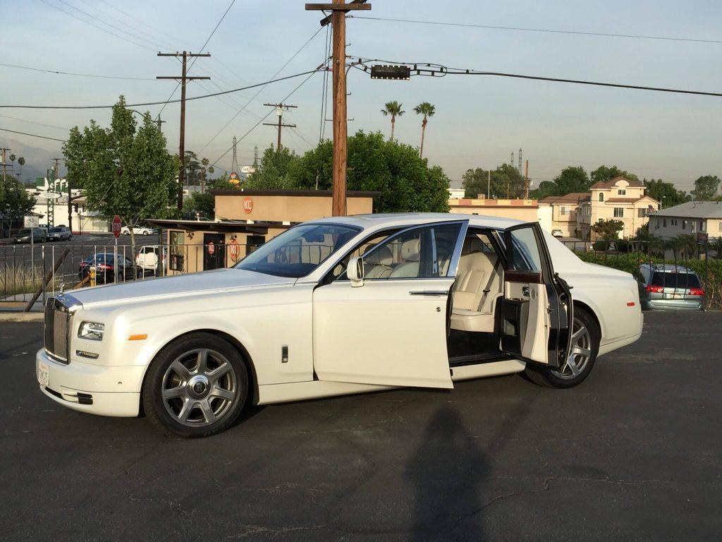 Rolls Royce Phantom Rental Los Angeles