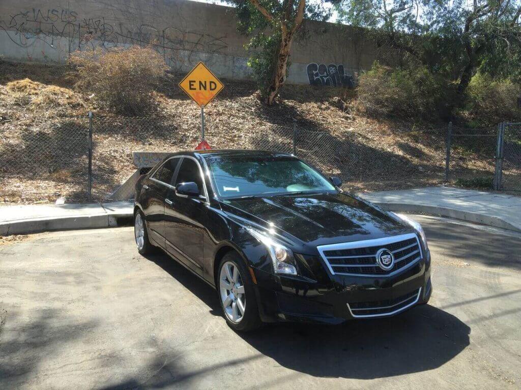 Cadillac ATS Rental Los Angeles