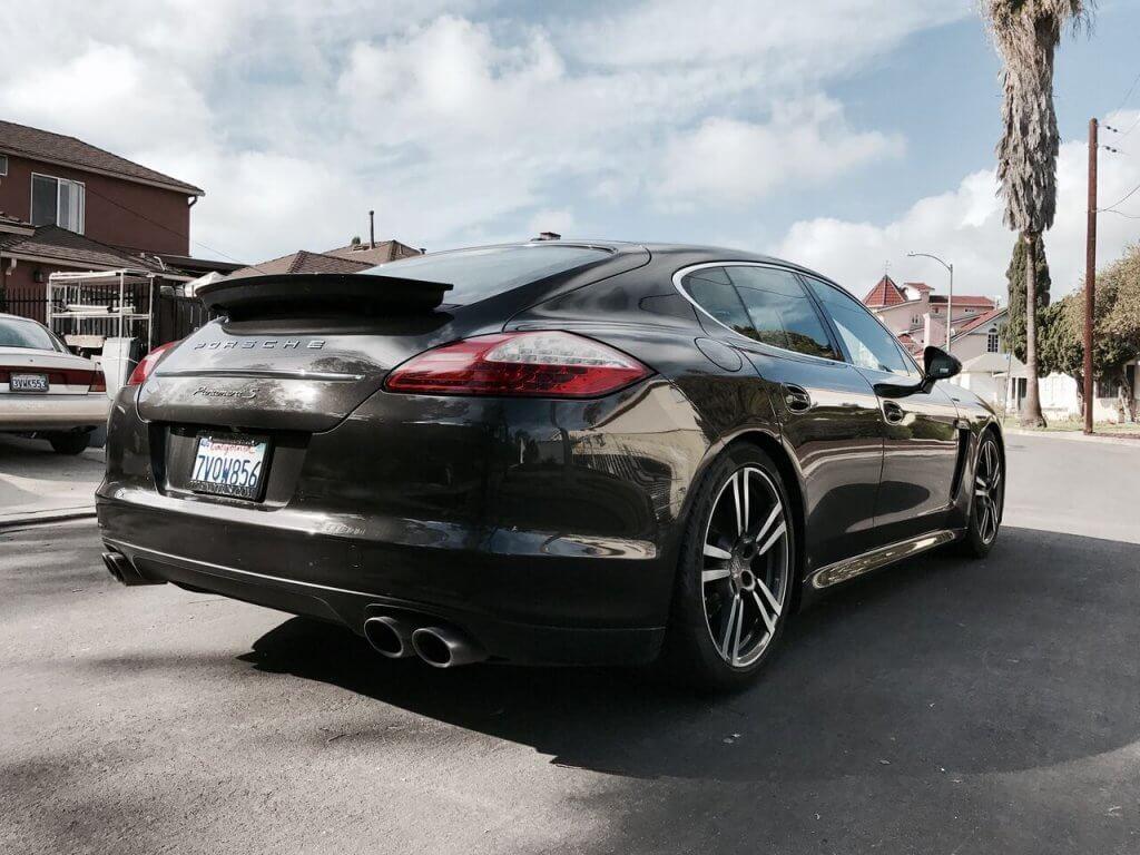 Porsche Panamera Dark Grey