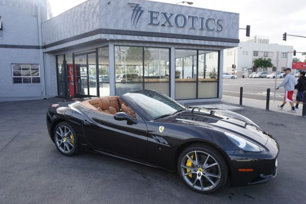 Ferrari California Black Rental Los Angeles