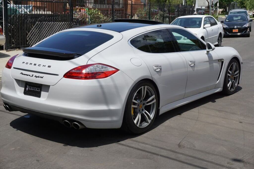 Porsche Panamera White Rental Los Angeles