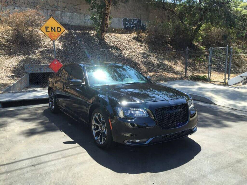Chrysler 300 S Black Rental Los Angeles