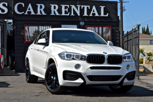 bmw x6 rental los angeles