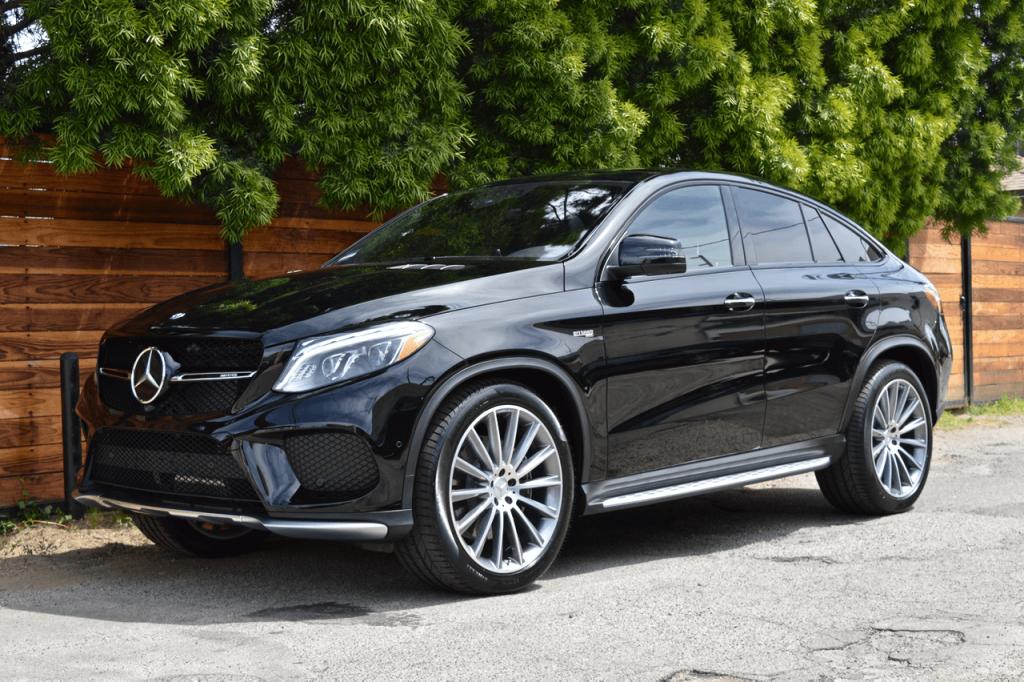 Black Mercedes GLE Rental Los Angeles California