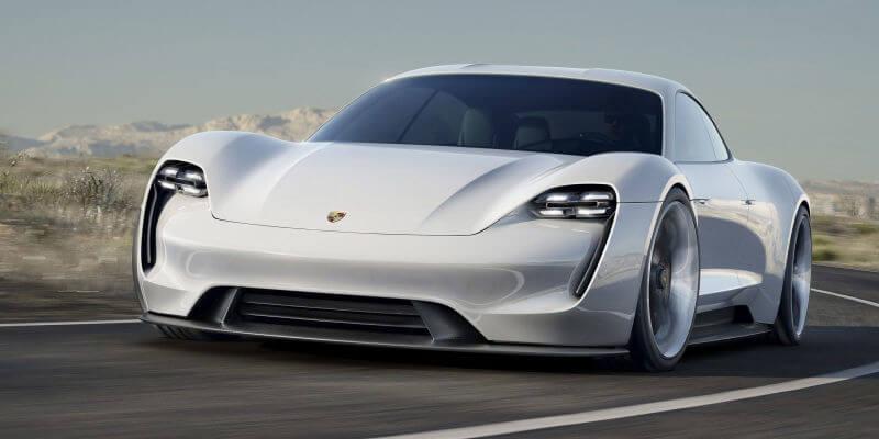 Porsche Mission E Rental