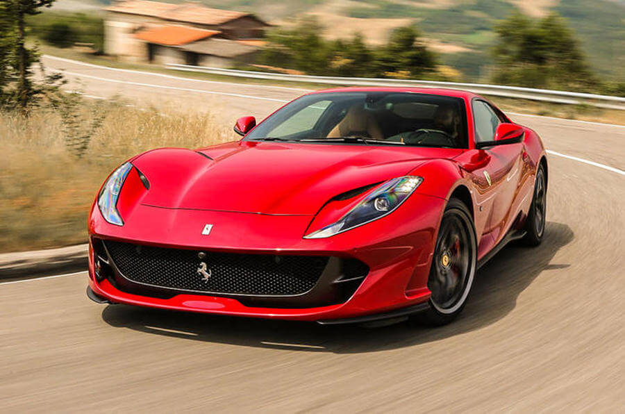 Ferrari 812 Superfast Rental
