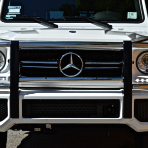 logo for white G63 in LOS angeles and LAS Vegas