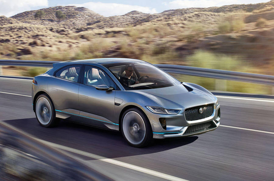 Jaguar I Pace Rental