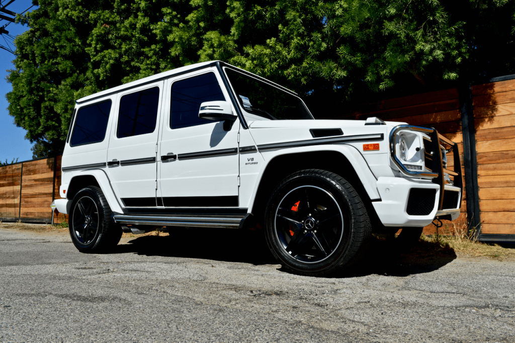 Comparing Mercedes G Class
