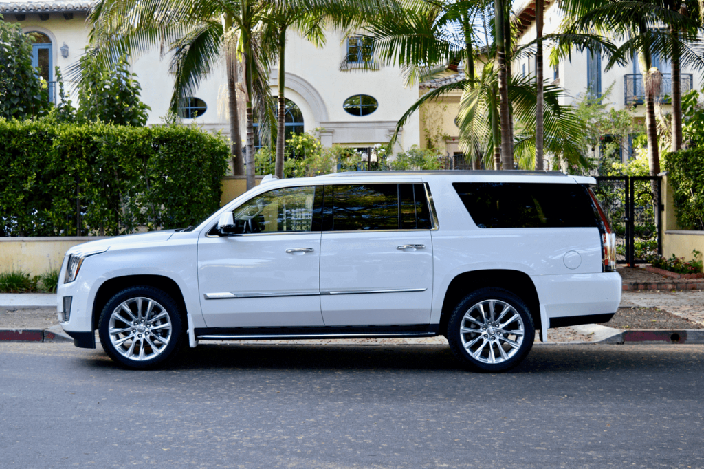white escalade rental los angeles 777 exotic car rental. Black Bedroom Furniture Sets. Home Design Ideas