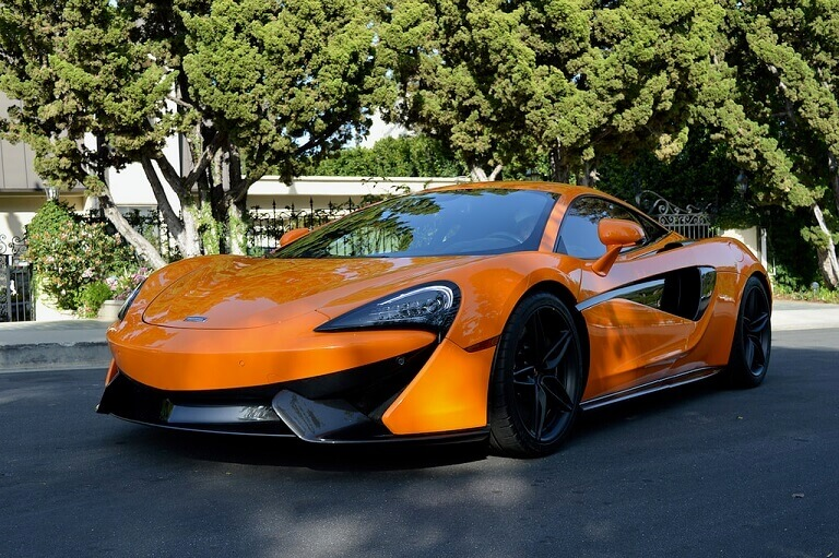 Rent Mclaren Los Angeles