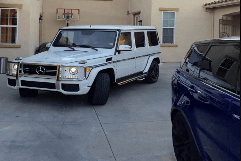 Range Rover and G63