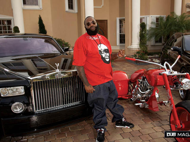 61979 Rick Ross is the proud owner of the Maybach 57