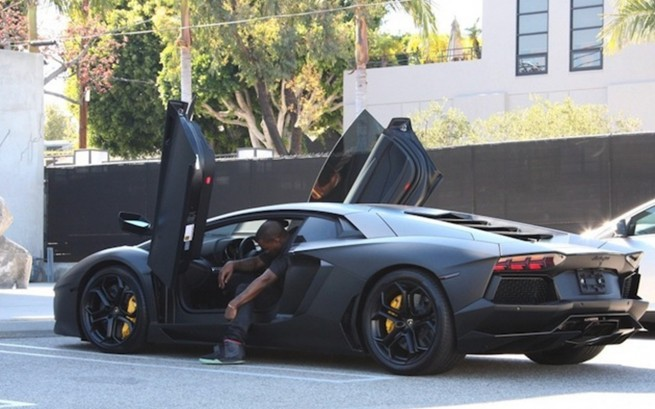 Kanye-getting-out-of-Lambo-655x409