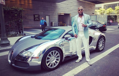 bug-480x309 Flo Rida having the most expensive cars.