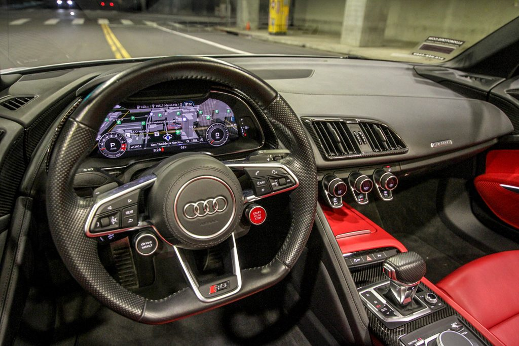 Interior | Audi r8 Rental | Audi r8 Rental Los Angeles
