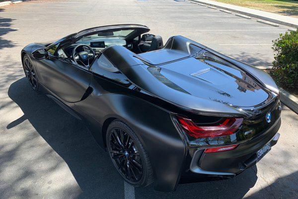 BMW i8 Back