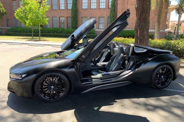 BMW i8 Car Rental