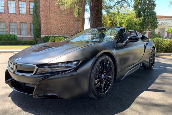 BMW i8 Roadster Front