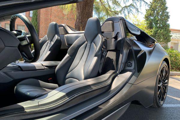 BMW i8 Roadster Inside