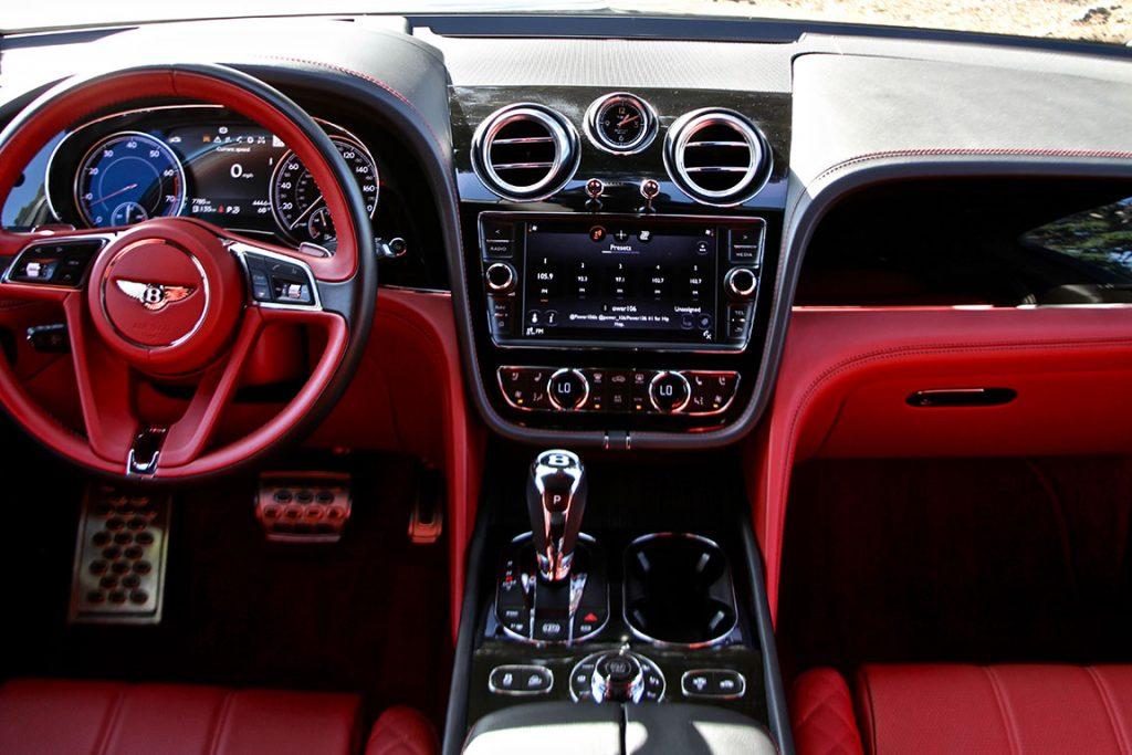 Bentley Bentayga SUV Los Angeles