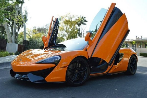 Exotic Car McLaren Los Angeles and Las Vegas