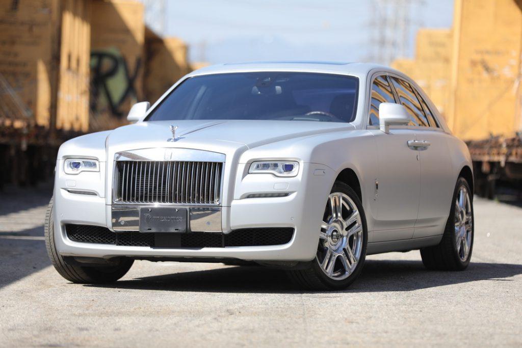 Rolls Royce Ghost Silver Main