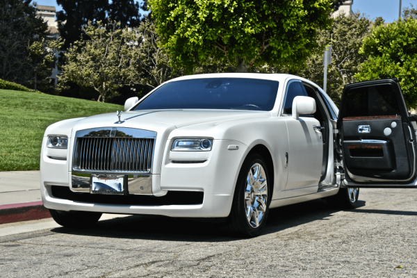 Rolls Royce Ghost for Weddings