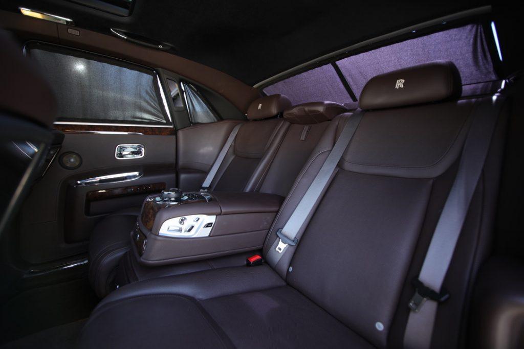 Rolls Royce Ghost Back Seat