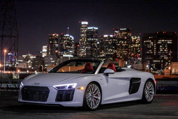 Audi-R8-Spyder-600x400 Exotic Car Rental Los Angeles & Beverly Hills