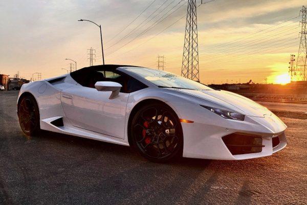 Lamborghini rental in los angeles
