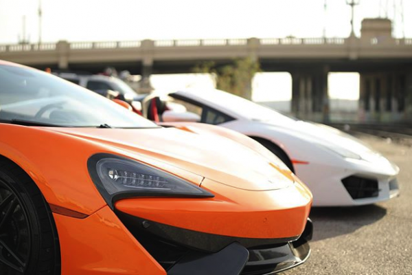 Lambos-600x400 Our sports cars are ready! The weather is amazing!