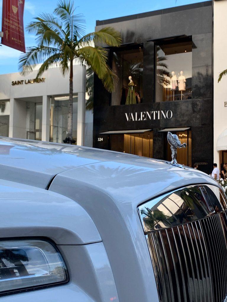 Rolls Royce Ghost Rental in Beverly Hills