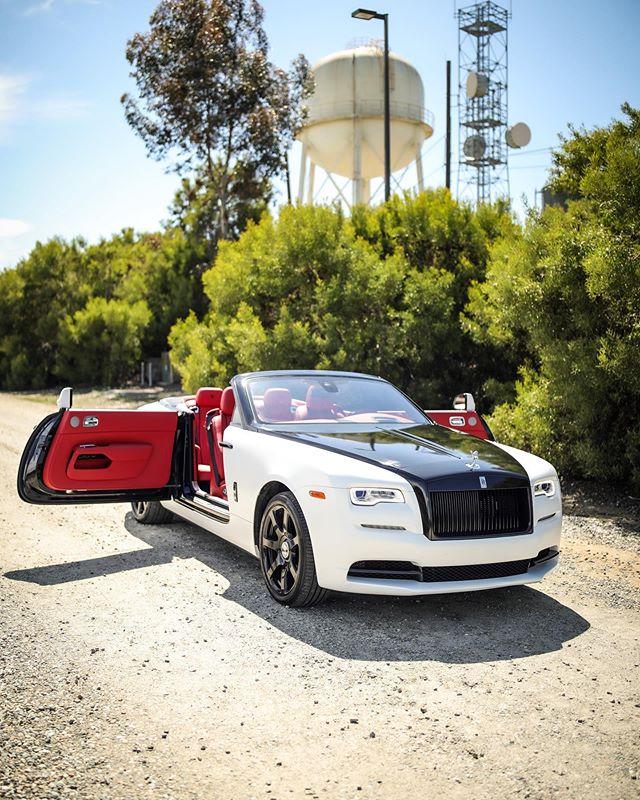Rolls Royce Dawn for Hire