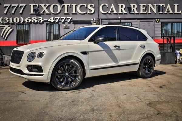 Bentley Bentayga SUV | Luxury SUV Rental Los Angeles