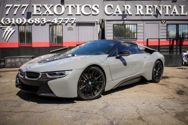 BMW i8 Roadster Los Angeles Rental | Exotic Car Rental Los Angeles