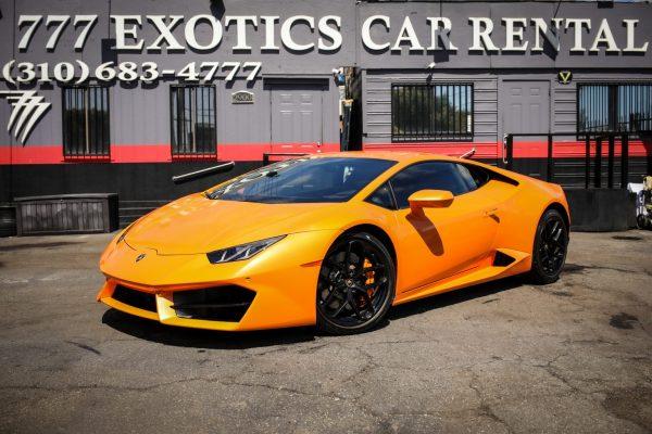 Lamborghini Huracan Rental | Exotic Car Rental LA