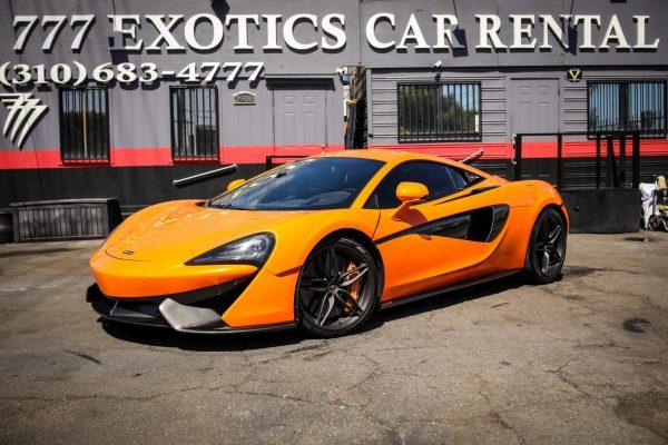 Mclaren 570s Exotic Rental Los Angeles