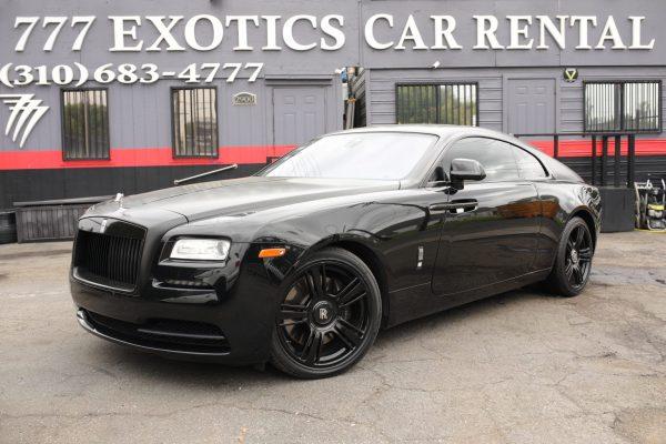 Rolls Royce Wraith | Car Rental Los Angeles